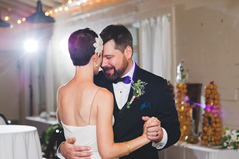 First wedding dance at Palm Door // Elissa R Photography