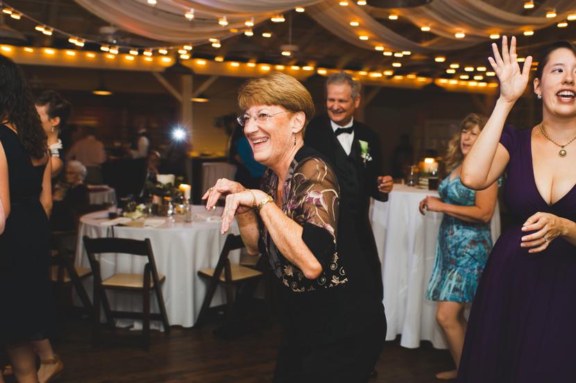 Dancing at Palm Door wedding reception // Elissa R Photography