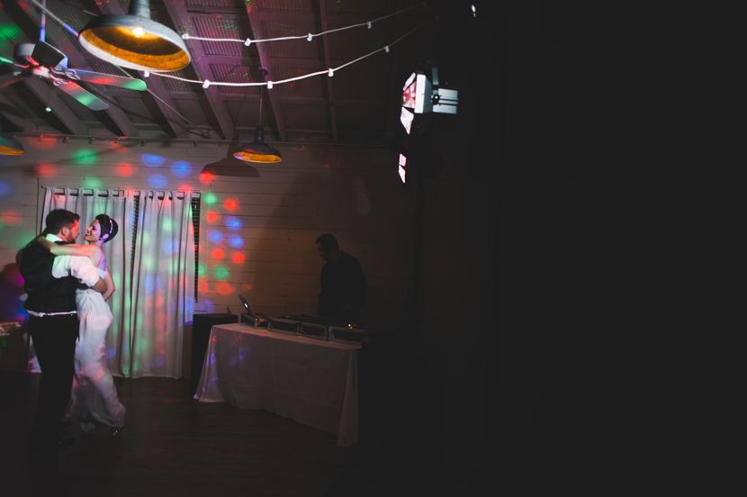 ATX DJ rocking a wedding reception // Elissa R Photography
