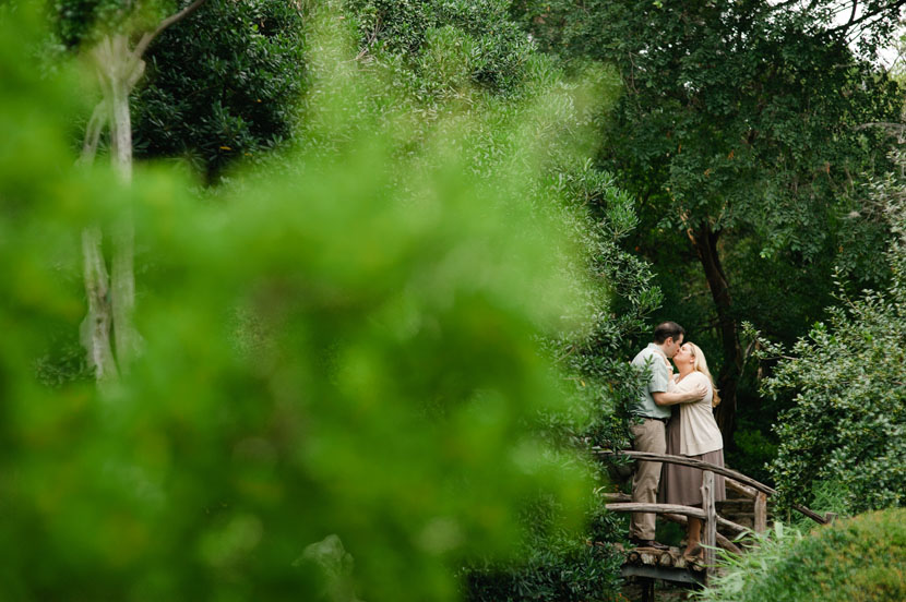 zilker botanical gardens engagement shoot
