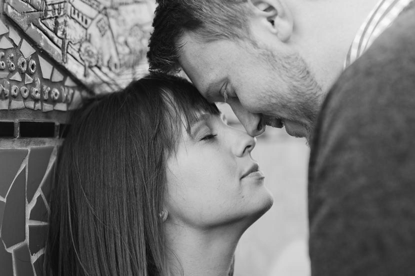 Romantic Austin engagement session // Elissa R Photography