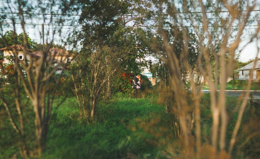 Brenizer Method panorama in engagement photos // Elissa R Photography