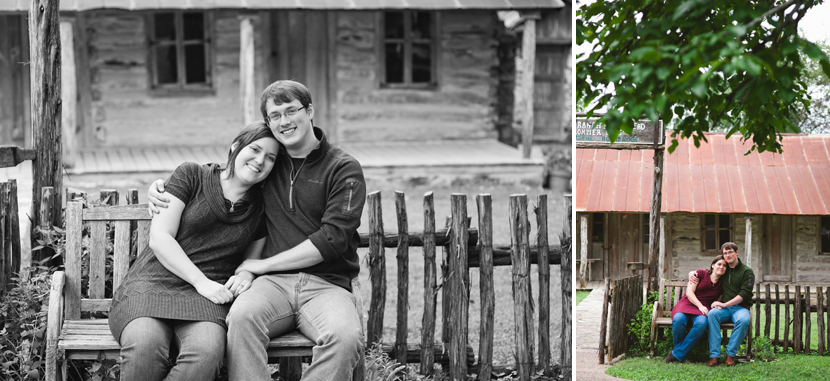 Engagement session portraits in Pflugerville // Elissa R Photography