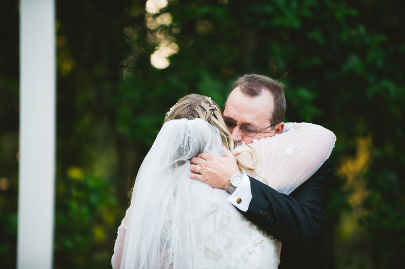 Giving away the bride // Elissa R Photography