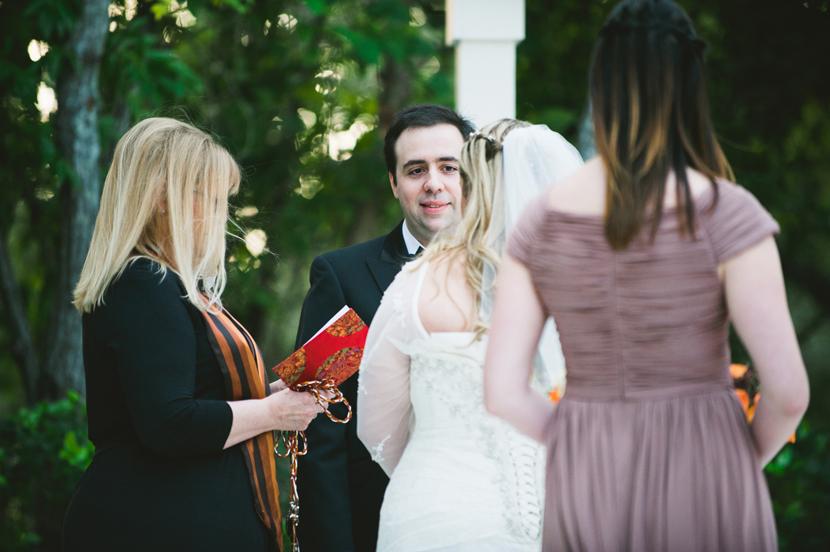 Round Rock wedding ceremony photos // Elissa R Photography