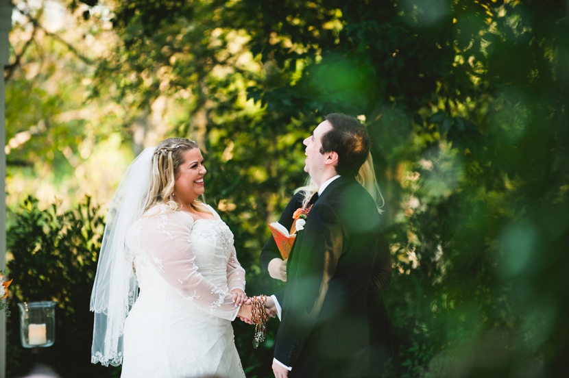 Humor at the altar // Elissa R Photography