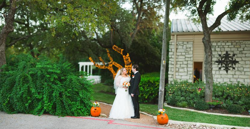 Brenizer method panorama of bride and groom // Elissa R Photography