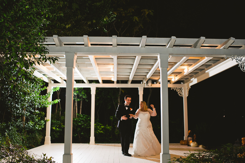 FIrst dance in an arbor // Elissa R Photography