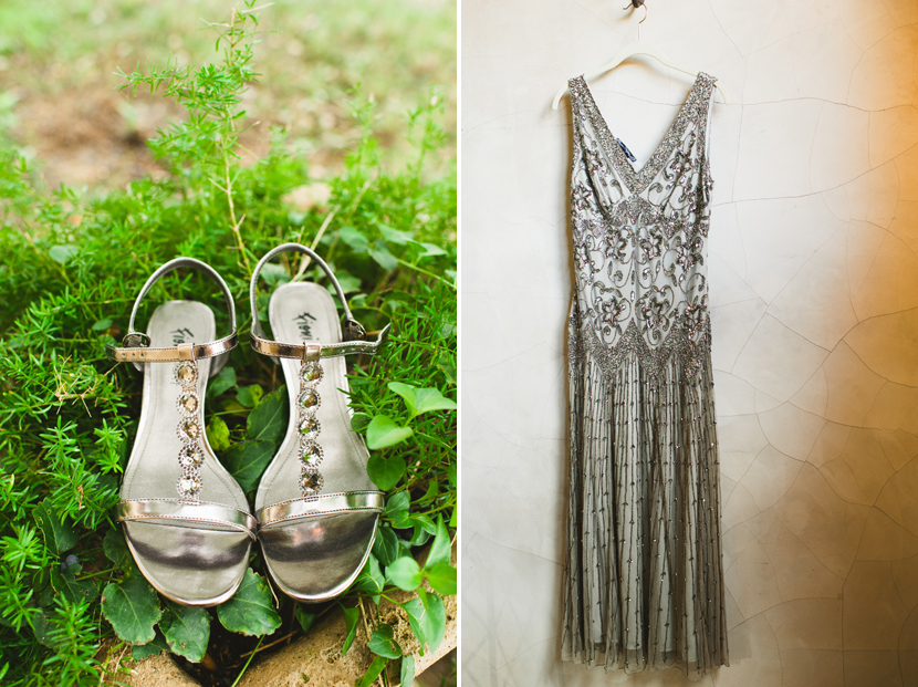 Roaring 20s inspired wedding outfit // Elissa R Photography