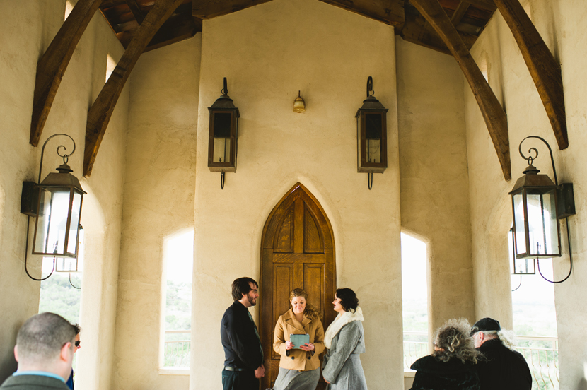 Chapel Dulcinea getting married photos // Elissa R Photography