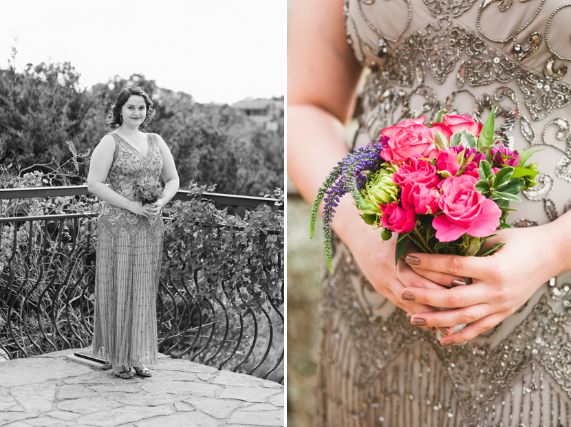 1920s inspired glitter wedding gown // Elissa R Photography