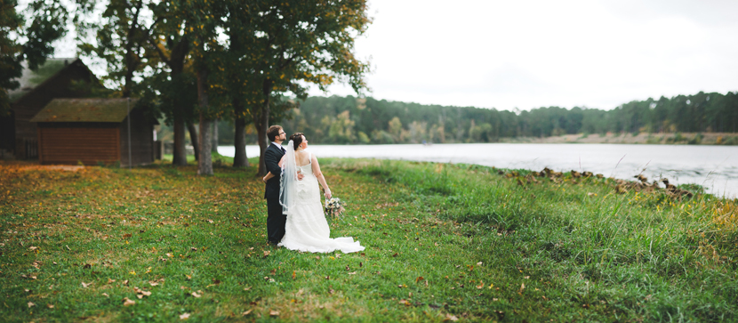 Lakeside wedding pictures // Elissa R Photography