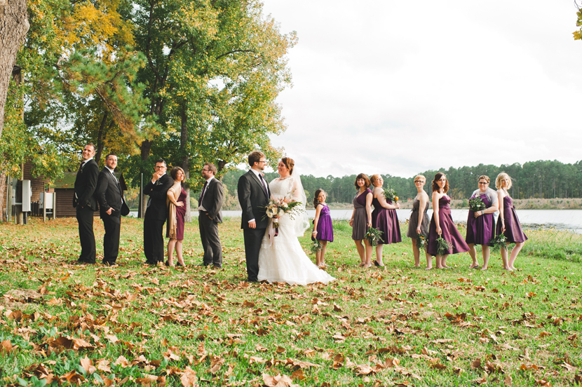 Vogue magazine styling bridal party // Elissa R Photography