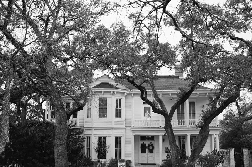 Allan House wedding venue in Austin TX // Elissa R Photography