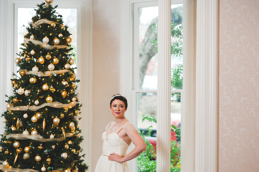 Christmas tree bridals // Elissa R Photography