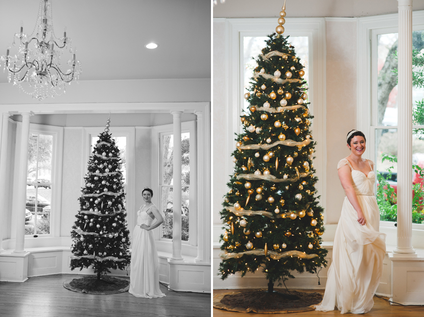 Christmas at Allan House downtown // Elissa R Photography