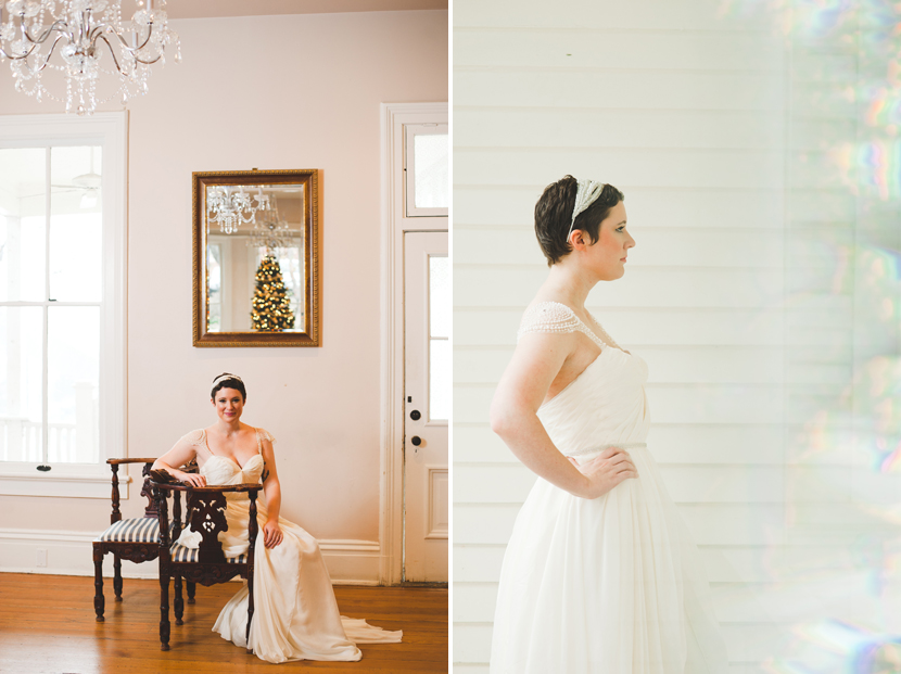 Short haired pixie bride Austin // Elissa R Photography