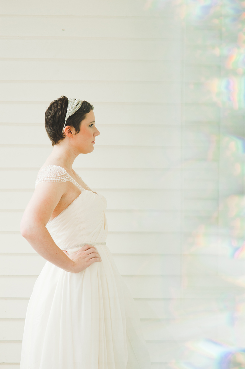 Interesting bridal portraits Austin TX // Elissa R Photography