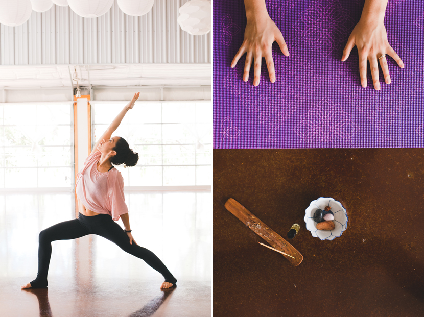 Austin yoga photography // Elissa R Photography