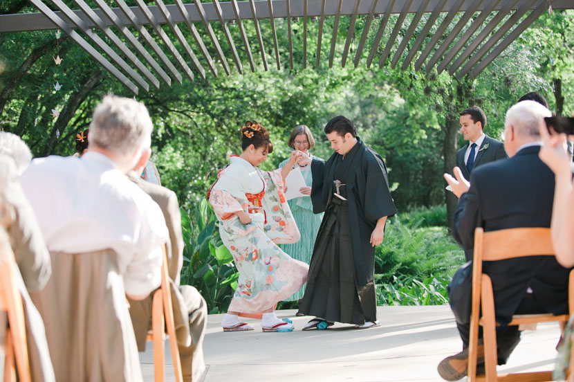 Japanese Jewish wedding Austin // Elissa R Photography