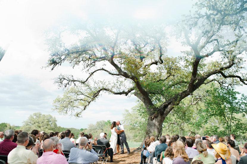 Lady Bird Johnson Wildflower Center wedding // Elissa R Photography