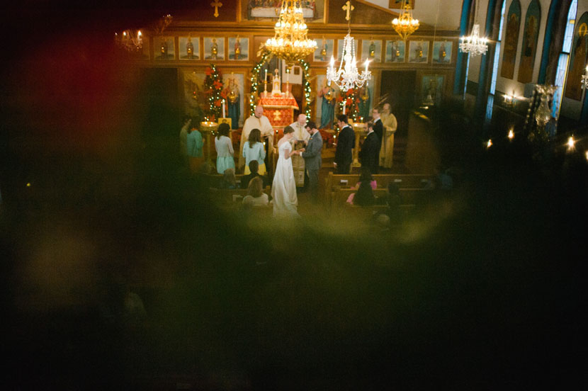Christian Orthodox wedding service // Elissa R Photography