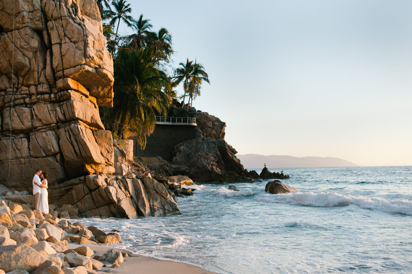 Puerto Vallarta beach wedding // Elissa R Photography