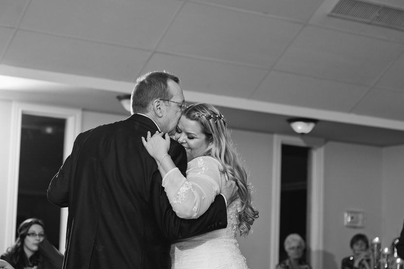 Father daughter dance emotional // Elissa R Photography