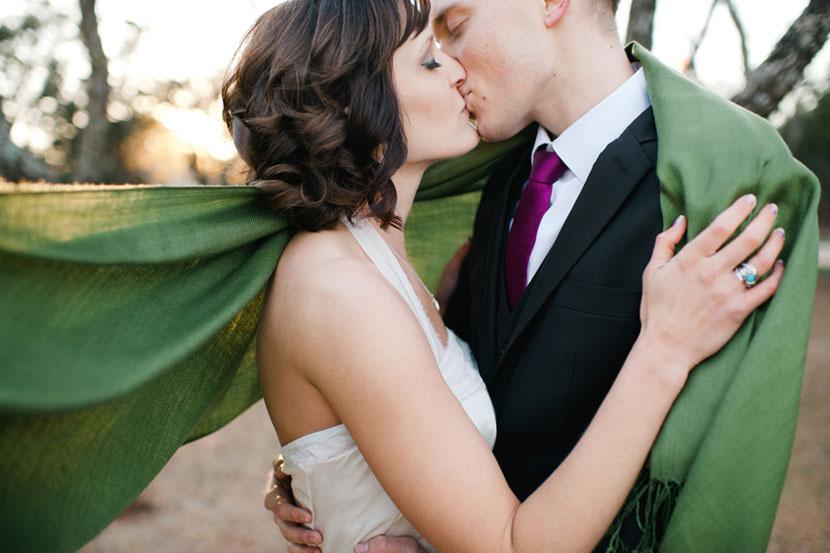 Backyard wedding Texas // Elissa R Photography
