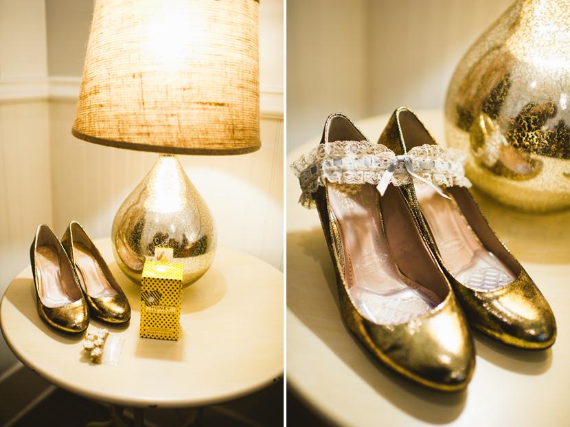 Vegan wedding shoes // Elissa R Photography