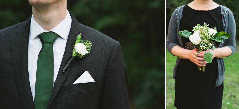 DIY wedding florals // Elissa R Photography