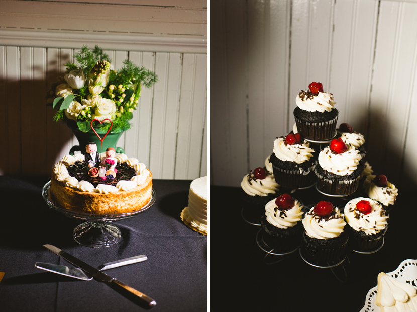 Capitol City Bakery Austin vegan wedding cake // Elissa R Photography