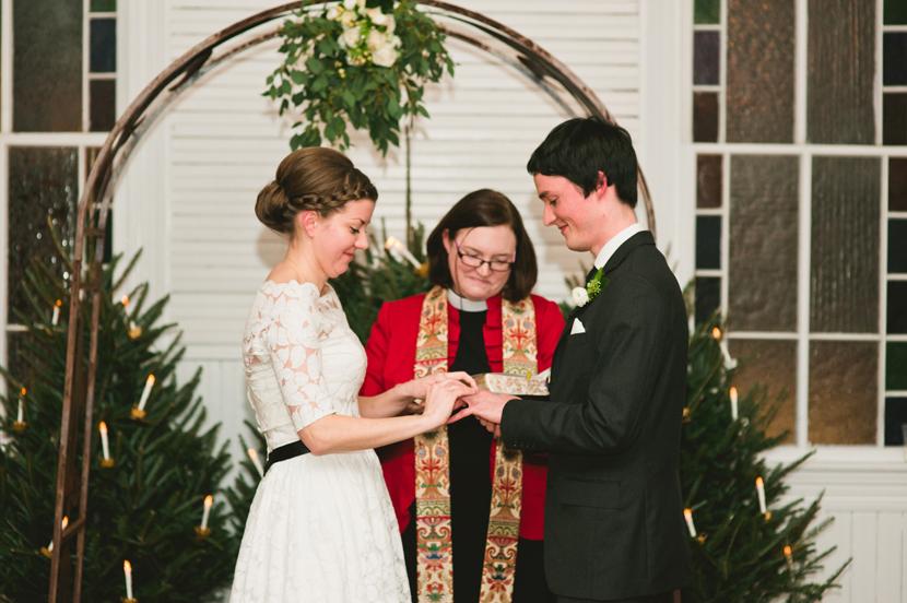 Austin indoor wedding venue // Elissa R Photography