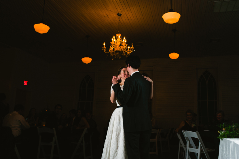 First dance Mercury Hall // Elissa R Photography