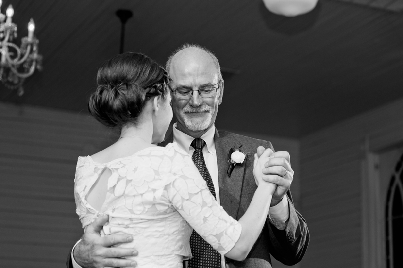 Father daughter dance by Austin wedding photographer // Elissa R Photography