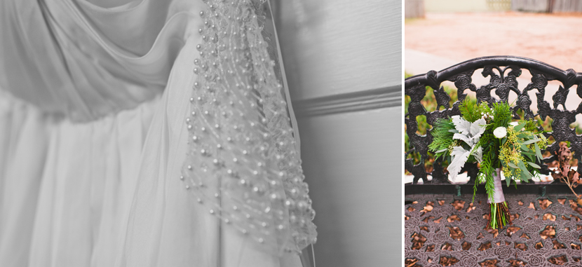 Sarah Seven wedding dress // Elissa R Photography