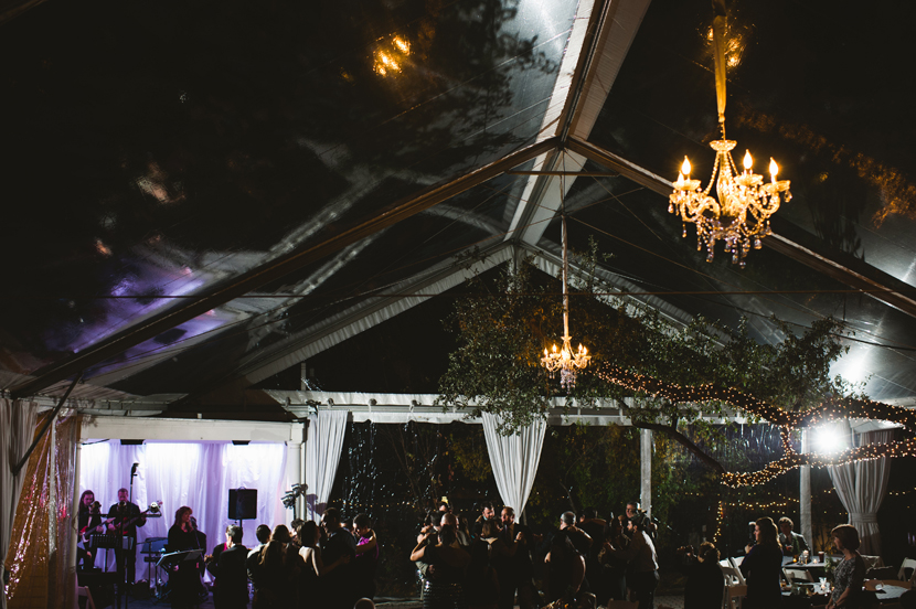 Allan House downtown Austin tent // Elissa R Photography