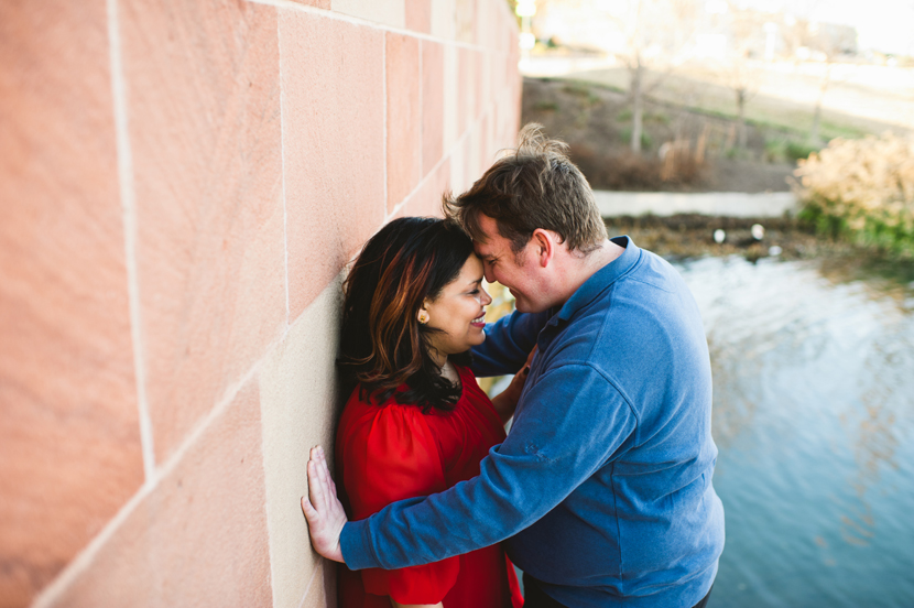 How to pose couples during an engagement session