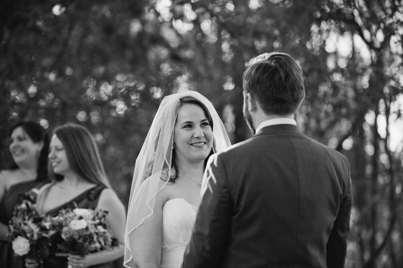 Poignant wedding moments