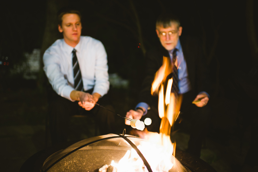 Smores at wedding