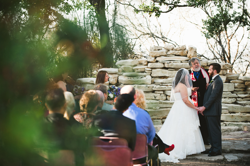 House on the Hill wedding ceremony pictures