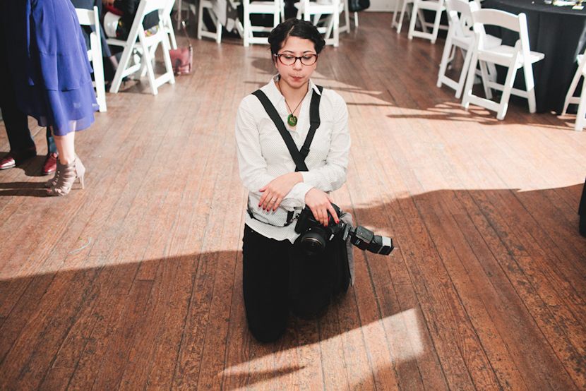 light testing wedding photographer