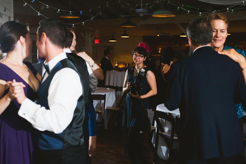 reception shooting wedding photographer