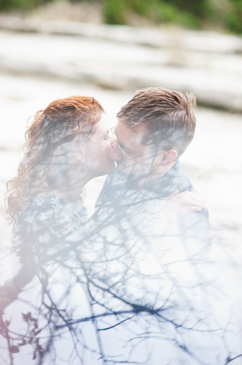 Artistic engagement photography