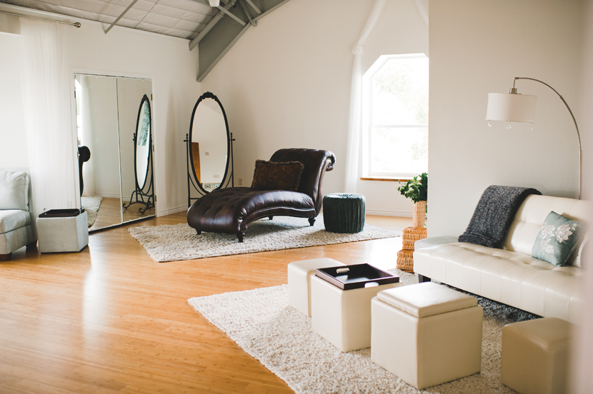 Bridal room at Terr Adorna