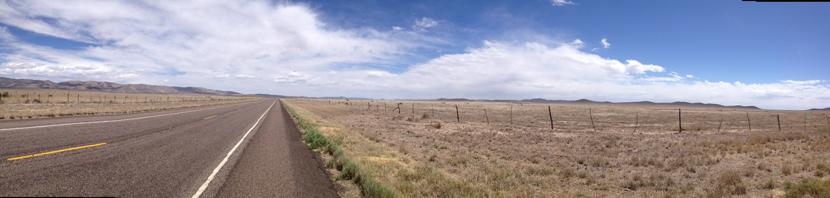 Scenic Road from Marathon to Fort Stockton