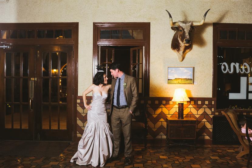 Hotel Paisano wedding
