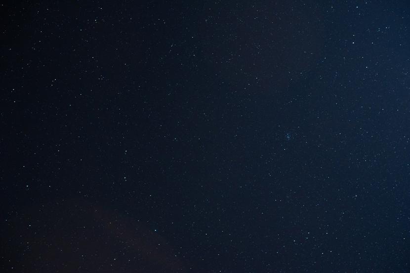 Texas starry night sky