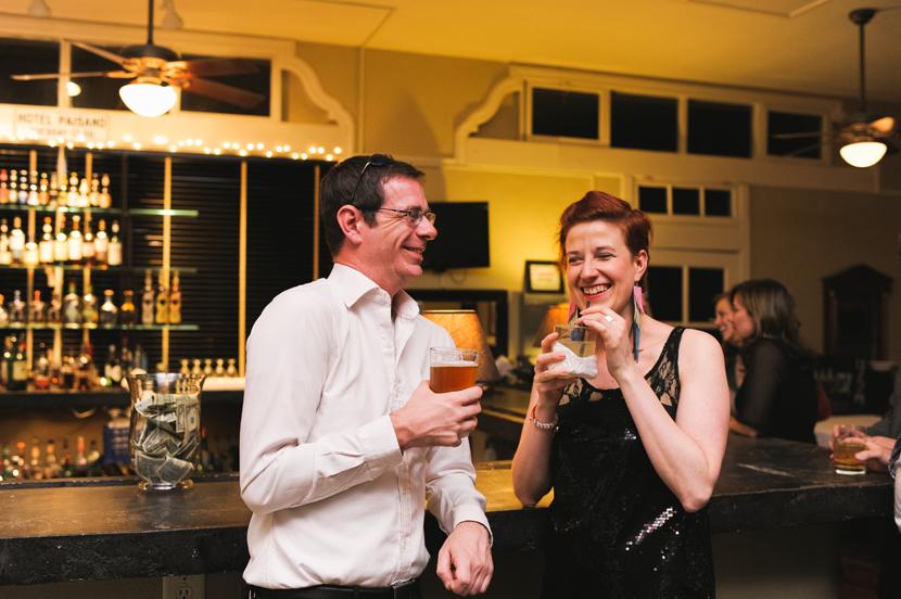 Hotel Paisano ballroom bar