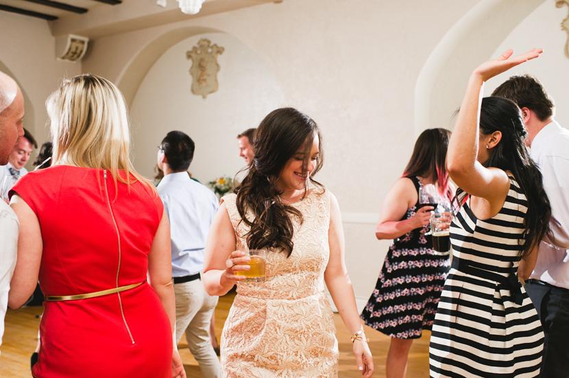 Paisano wedding reception